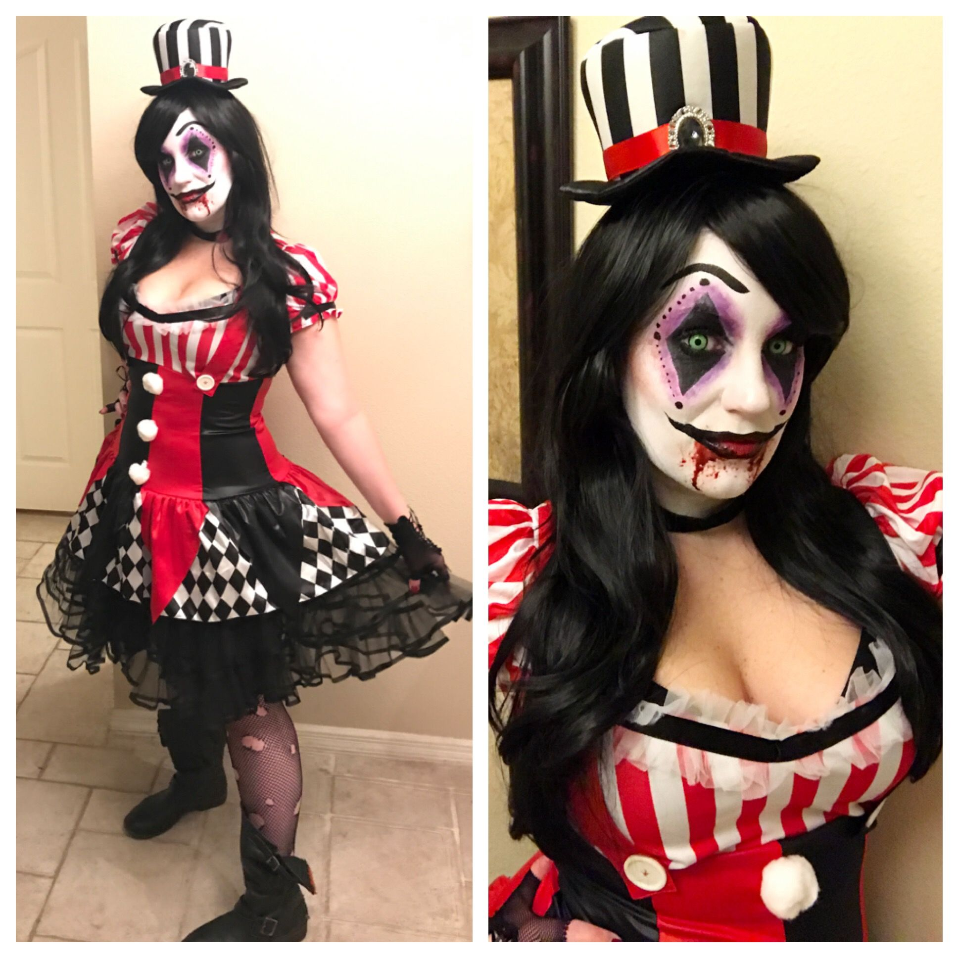 Halloween face makeup, Face
