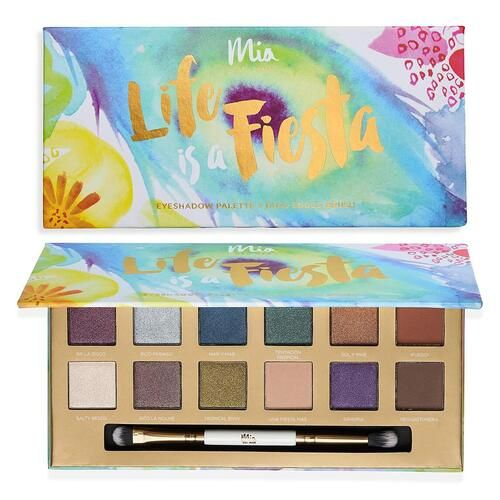 An eyeshadow palette will enhance the natural color and beauty of your eyes and makes it stand out. Pick your favorite out of these 12 insanely pigmented colors inspired by the carnival festival in Brasil, and take them out for a spin! #makeup #eyeshadowpalette #eyes #besteyeshadow #longlastingeyeshadows #makeuplook #highpigmenteyeshadowpalette #eyeshadowforgreeneyes #eyeshadowforbrowneyes #eyeshadowforblueeyes #eyemakeup #eyeshadowforbeginners