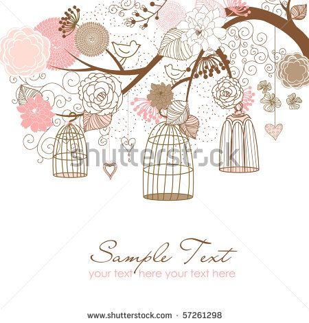 birdcage invitation free - Googleu0027da Ara Hazıra kon ) (Free - free invitation backgrounds