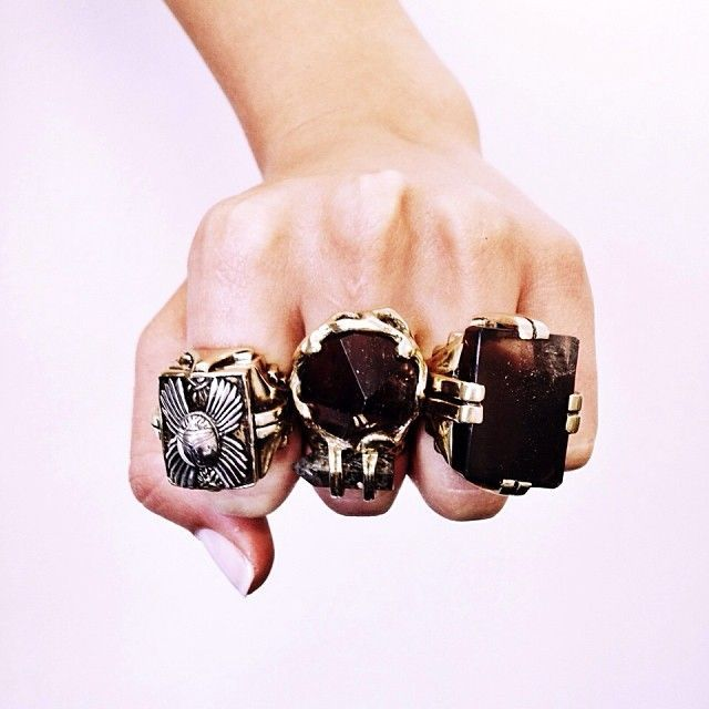 at oversized signature yorkcoach link coach xlarge rings new shopstyle browse chain ring
