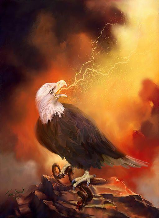 Raise Your Prophetic Voice - Open Heavens  Paintings -4005