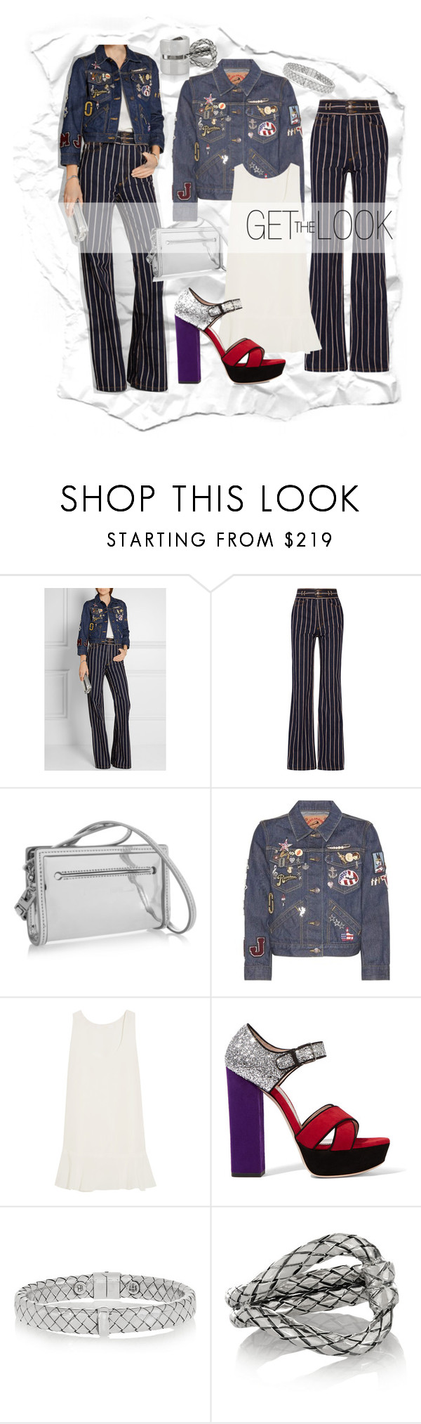 """net-a-porter"" by alinnas ❤ liked on Polyvore featuring Marc Jacobs, McQ by Alexander McQueen, Chloé, Miu Miu, Bottega Veneta and Jennifer Fisher"
