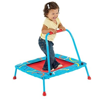 Toddler Mini Trampoline with Handle - One Step Ahead Baby