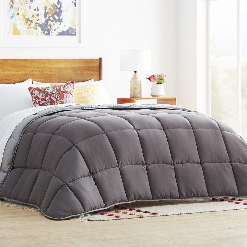 All Season Microfiber Down Alternative Comforter In 2021 Comforters Oversized King Comforter King Comforter Oversized king down alternative comforter