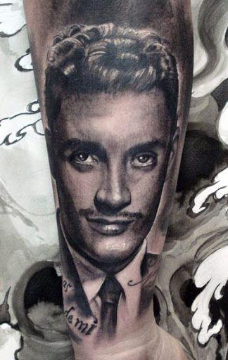 Realism Portraits Tattoo by Henry Anglas Padilla?