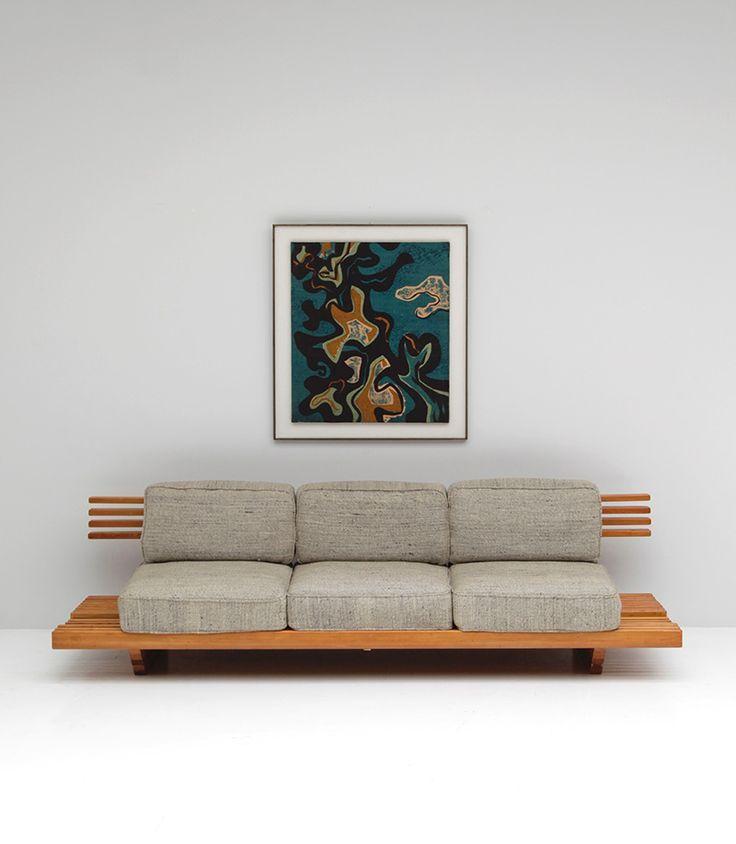 Midcentury Sofa MIDCENTURY GIRL Mbel Modernes Sofa