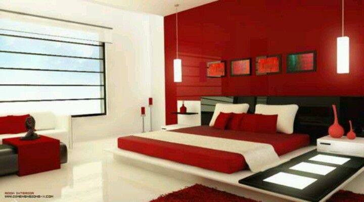 8 Red White Bedroom Ideas Bedroom Red Modern Bedroom Red Bedroom Design