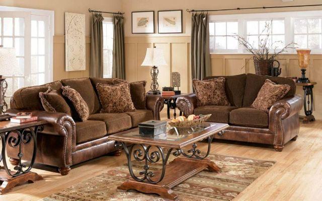 Decoraci 243 N De Salones Coloniales Colores Muebles Y