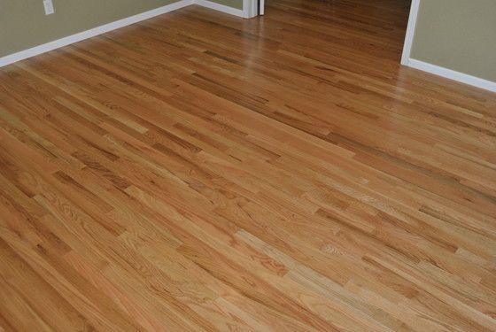 Natural Red Oak Floor