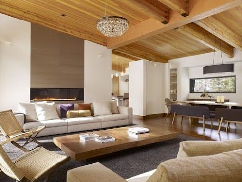 What an amazing interior for an amazing setting - Beautiful Mountain Residence by John Maniscalco Architecture -http://bit.ly/IUEIxh