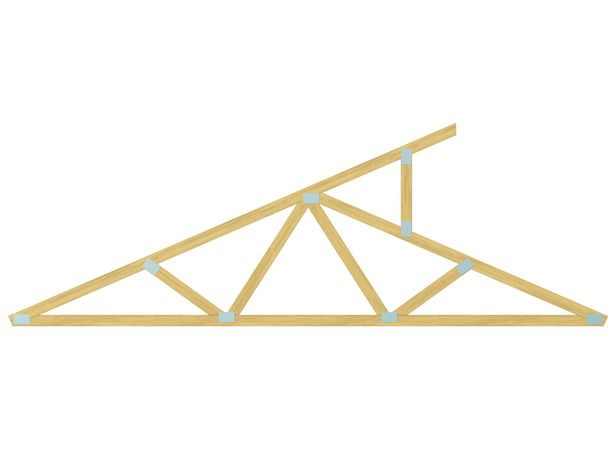 All about roofs pitches trusses and framing high walls for Clerestory roof design