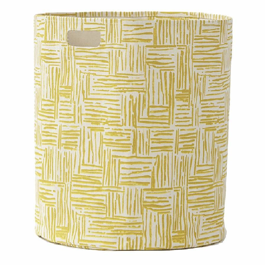 Hatch Hamper in Mustard - Pehr Designs - $69.99 - domino.com
