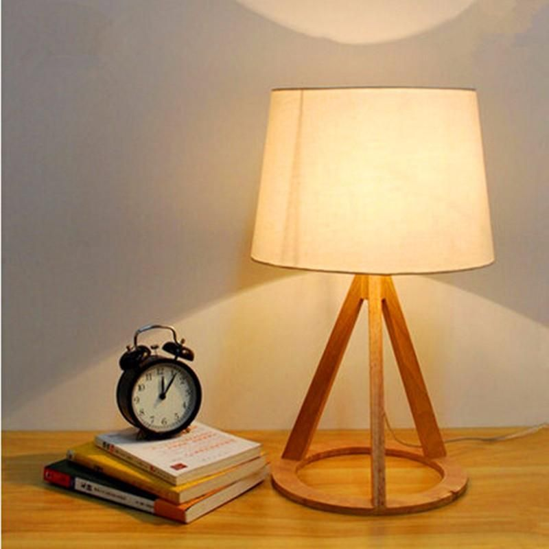 Cottage Style Wooden Table Lamp 51 30cm