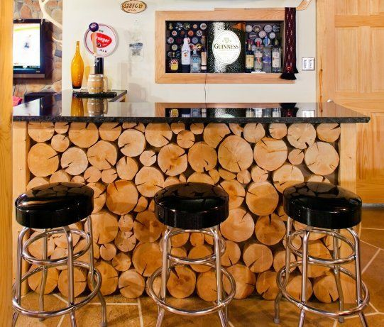 40 Cool Rustic Bar Design: Best 25+ Hunting Man Caves Ideas On Pinterest