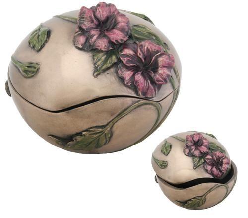 Art Nouveau Inspired California Poppy By Mason Larose: Art Nouveau, Box Art, Trinket Boxes