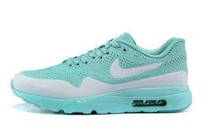 Mens Womens Nike Air Max 1 Ultra Moire Jade White Light Blue 724390 009 Running  Shoes d6f2d00eb