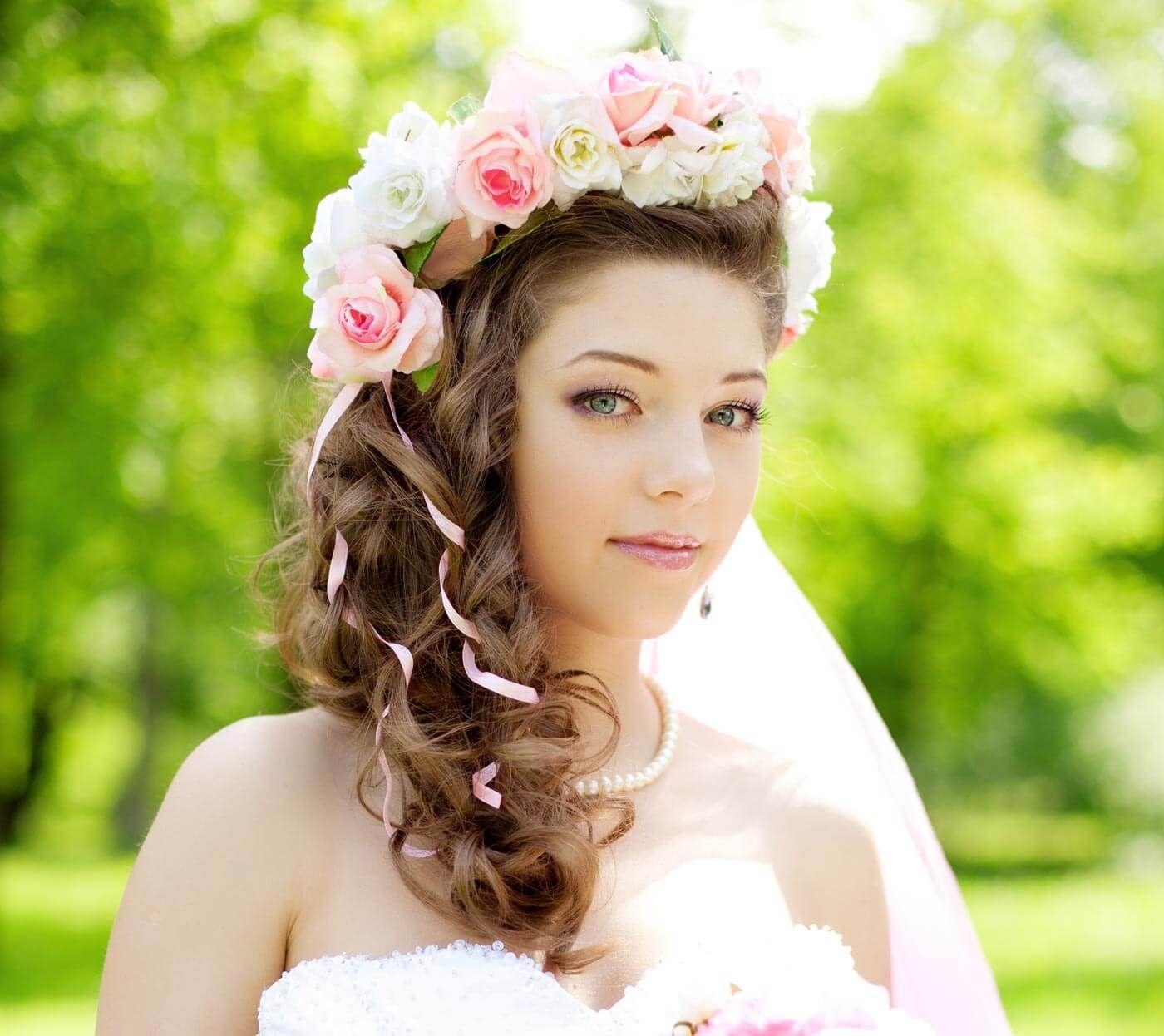 Brautfrisur Prinzessin  Große Bildergalerie  Brautfrisur, Braut