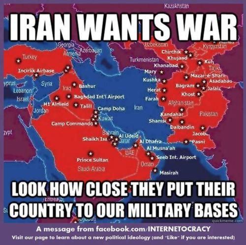 Iran wants war! | Common sense | Pinterest | Politics, Iran and Military