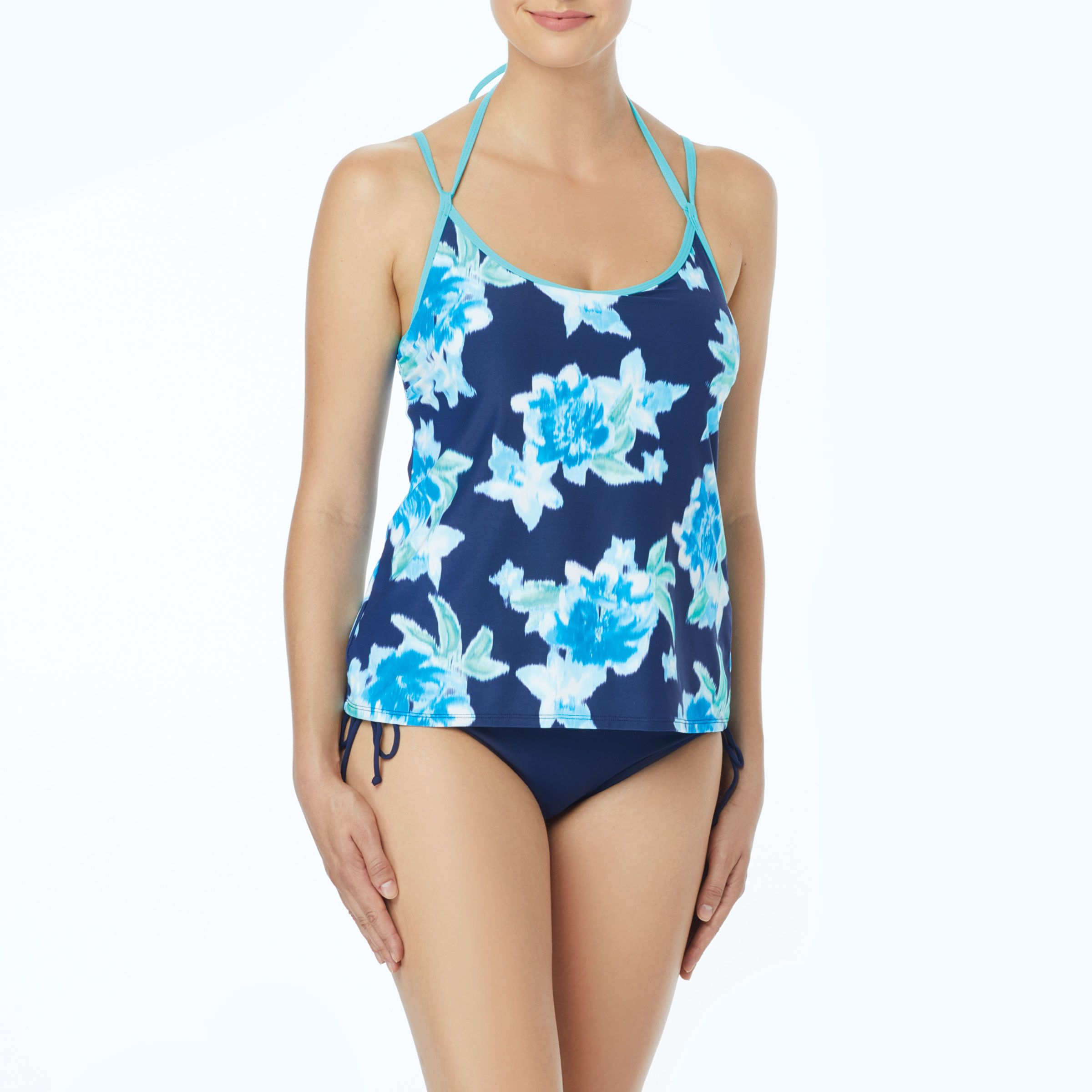 dbbad25f9d4 Blair Spliced High Neck One Piece Swimsuit - Key Largo | | S h o p ...