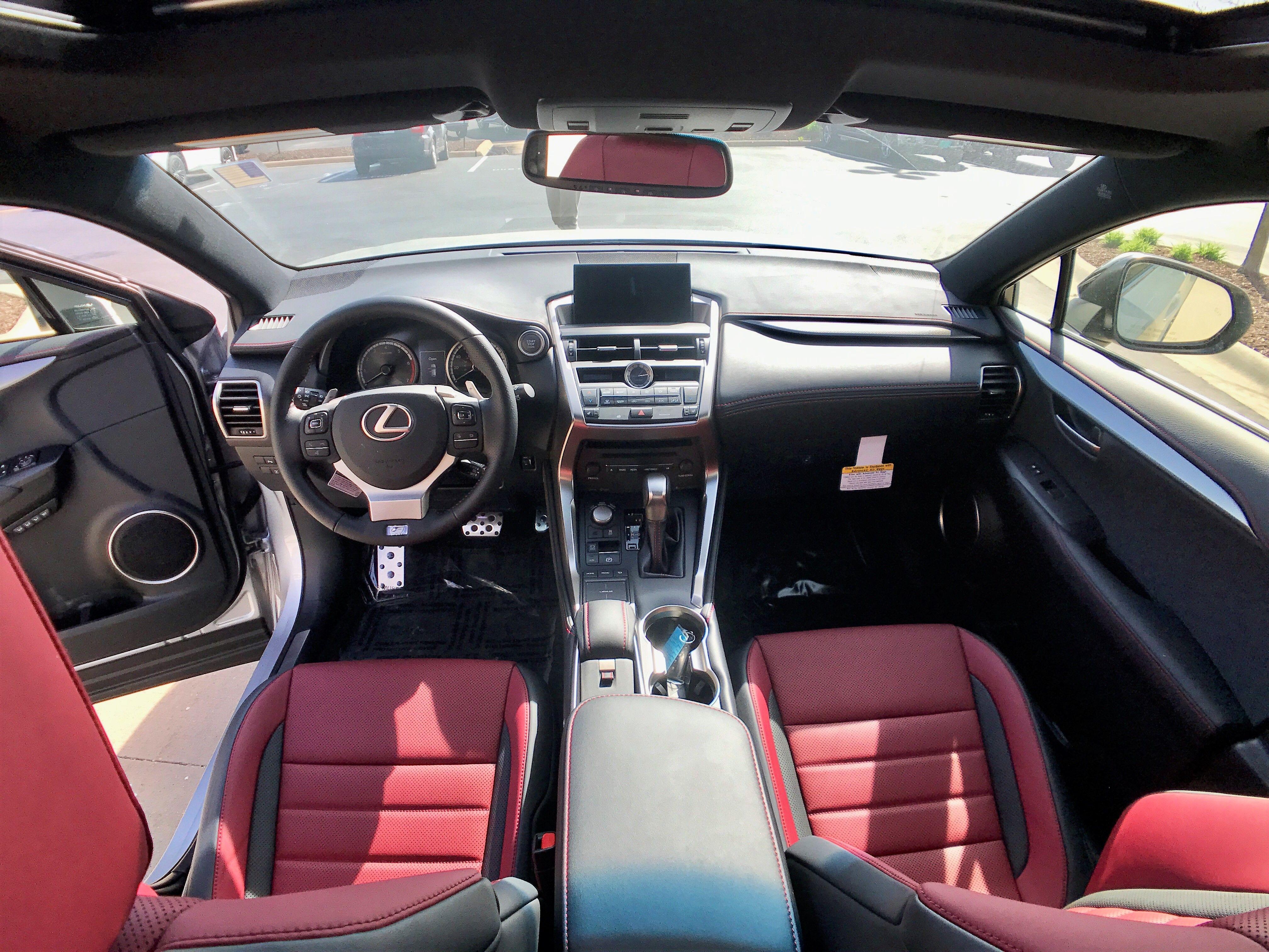 Lexus NX F Sport red interior Lexus nx 200t, Lexus