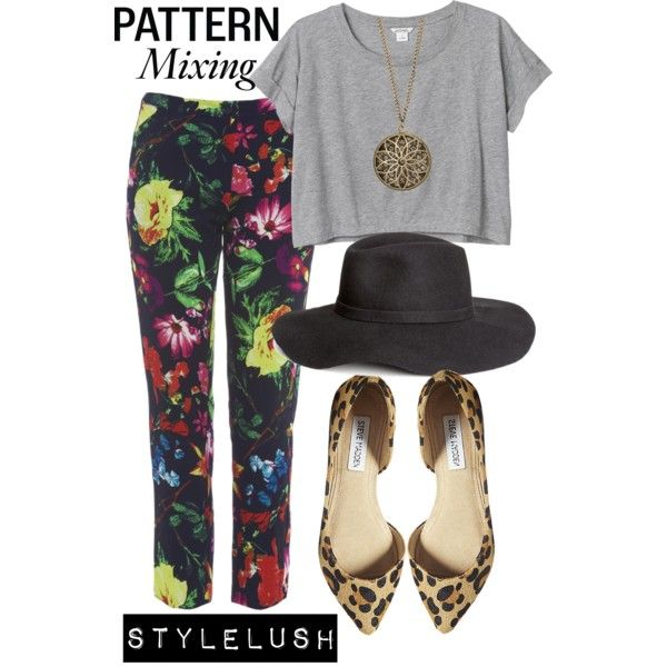 Leopard + Floral by stylelush on Polyvore featuring Monki, AX Paris, Steve Madden, maurices, H&M, contestentry and PVCurvyChic