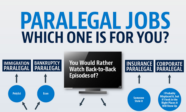 Visualistan Paralegal Jobs Which One Is For You Infographic Paralegal Infographic Job