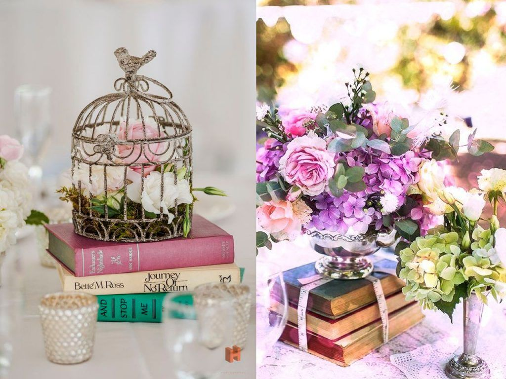 7 centros de mesa para la decoracin de bodas originales