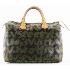 #Louis #Vuitton Limited Edition Stephen Sprouse Khaki Graffiti Speedy 30 Bag. #Christmas #gift ideas online!