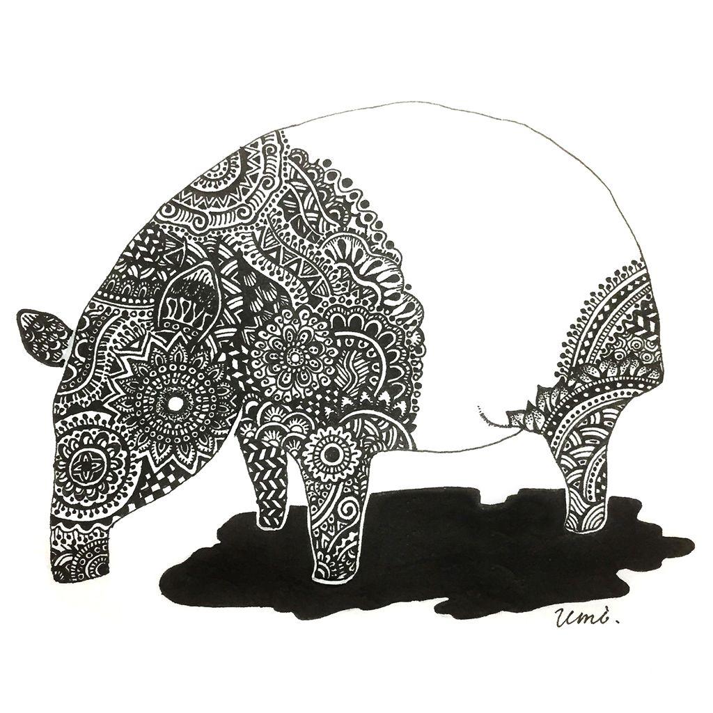 ゼンタングル って知ってる 描いてみた 海から山までバリアブル イラストレーター かわいい ゼンタングル 模様 イラスト