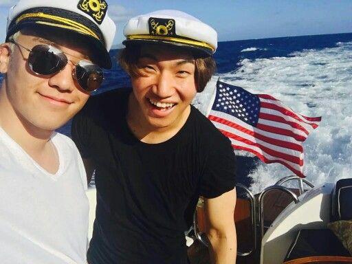 "151218 #Seungri Instagram Update ~They're so cute!  #막내라인  ""daesung ❤️ ""  #스트롱오빠 #StrongOppa"