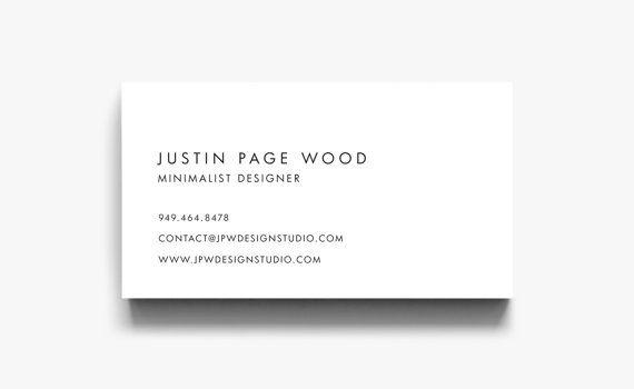 Business Card Design Business Card Template Calling Cards Modern
