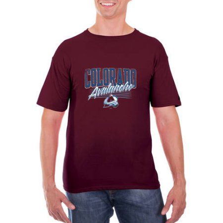 NHL Colorado Avalanche Men's Classic-Fit Cotton Jersey T-Shirt, Size: Large, Red