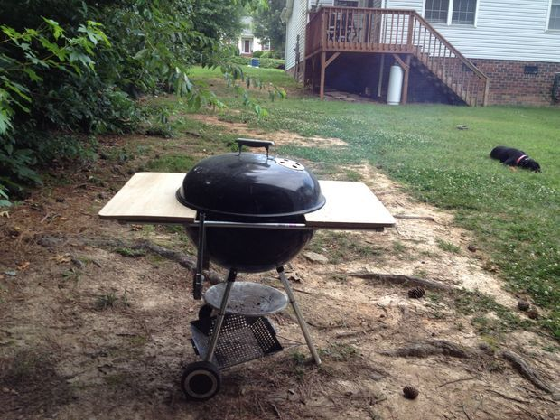 weber grill table diy projects pinterest. Black Bedroom Furniture Sets. Home Design Ideas