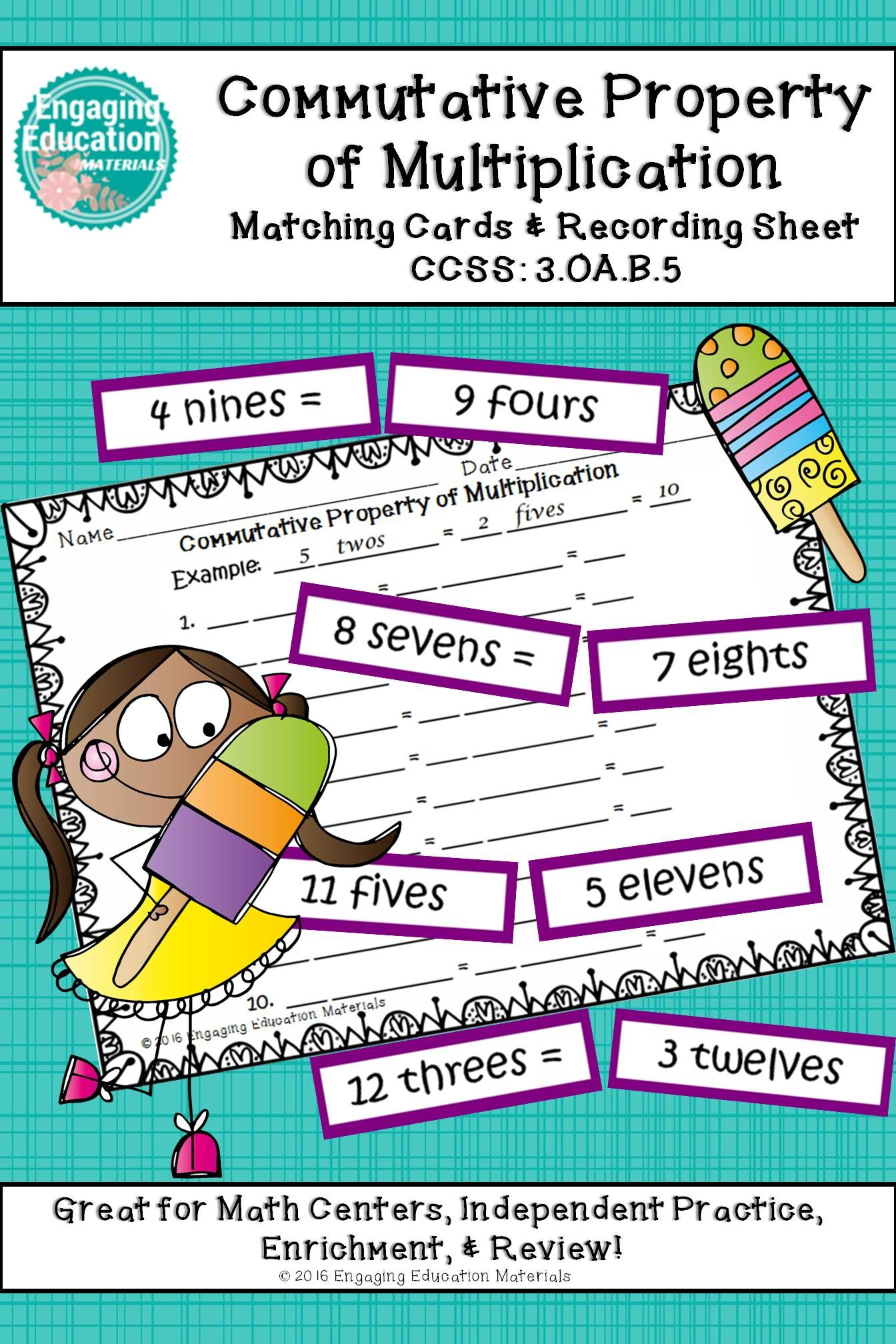 I Love This Math Center Activity For Reinforcing The