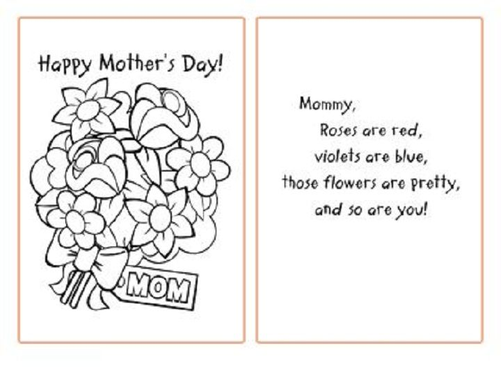 Mother's Day Coloring Pages - Bing Images