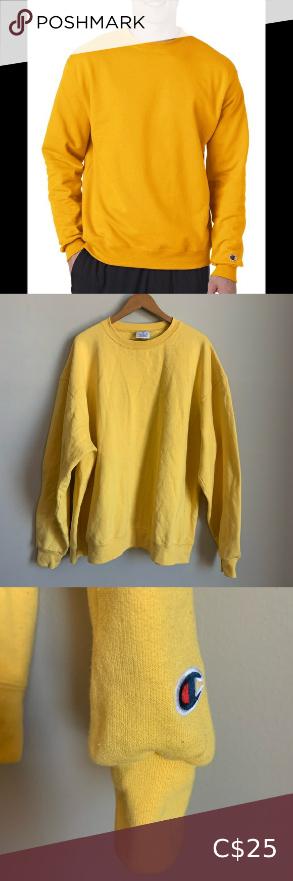 Champion Eco Fleece Crewneck Sweater Size Xxl Crew Neck Sweater Sweater Sizes Hurley Jacket [ 1740 x 580 Pixel ]