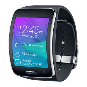 Samsung Galaxy Gear S SM-R750T Smart Watch Charcoal Black T-Mobile