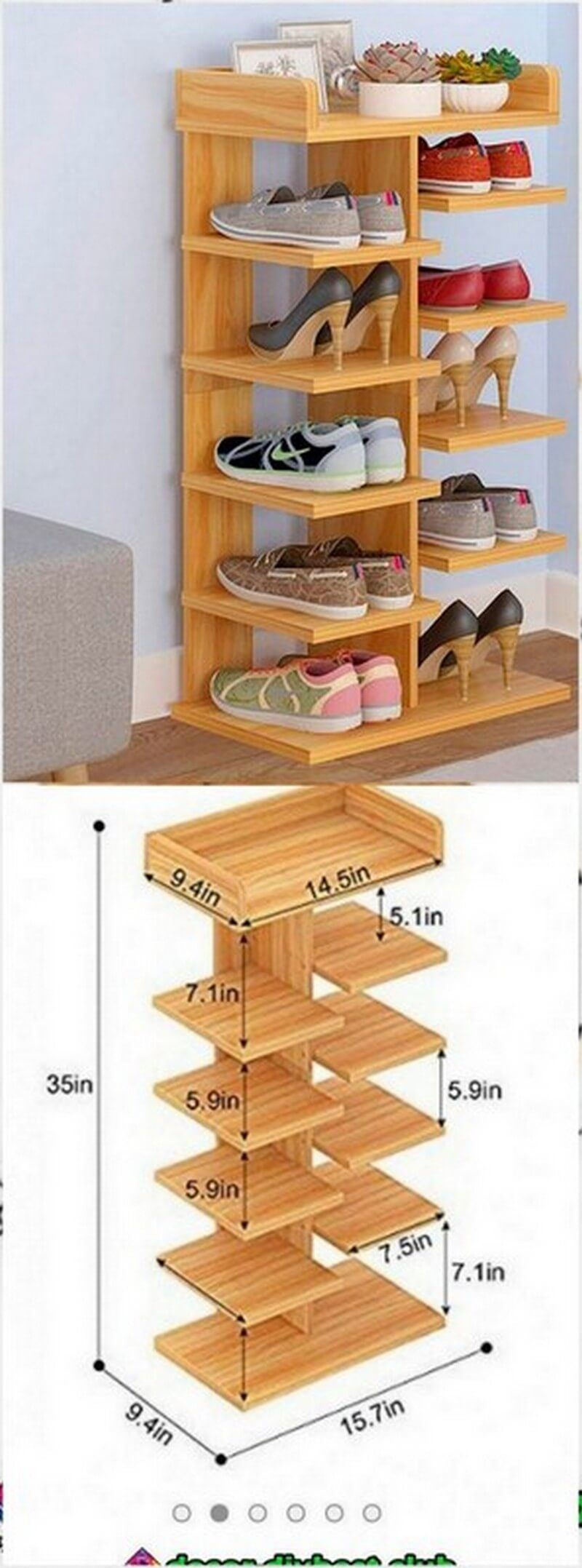 a wooden shoe rack is also something worth making the on wood shoe rack diy simple id=11948