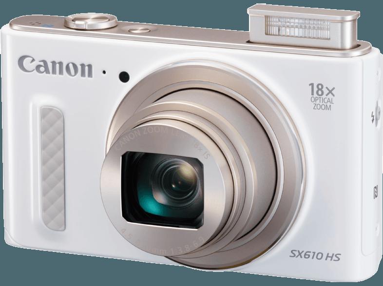 CANON PowerShot SX610 fehér digitális fényképezőgép