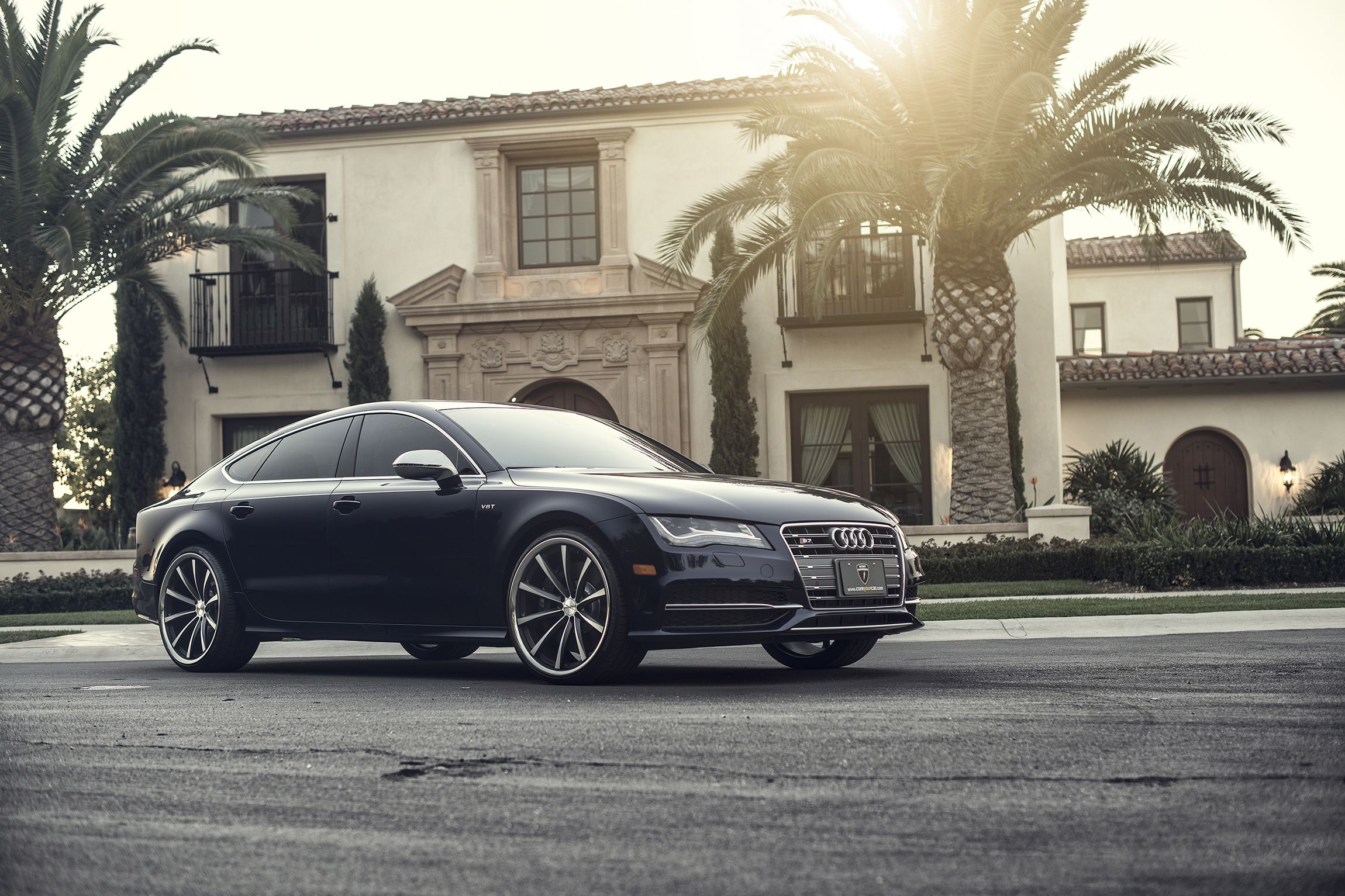 Wonderful Malcolmu0027s House And Car. Audi S7 V8