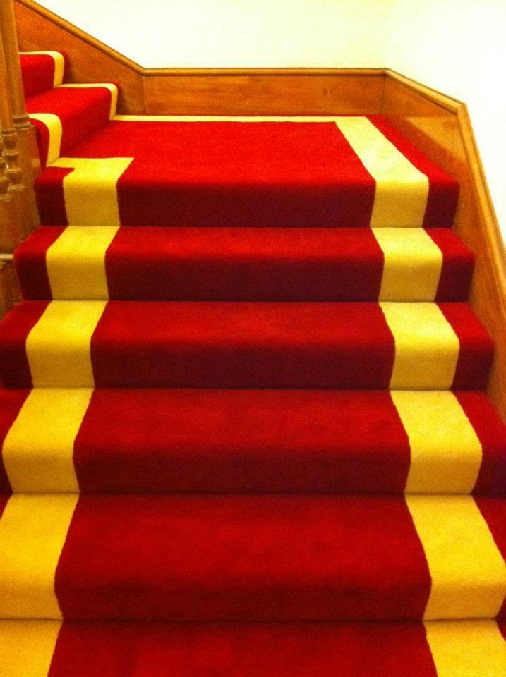 A lovely custom carpet by Coraff Carpets (http://www.facebook.com/Coraff)