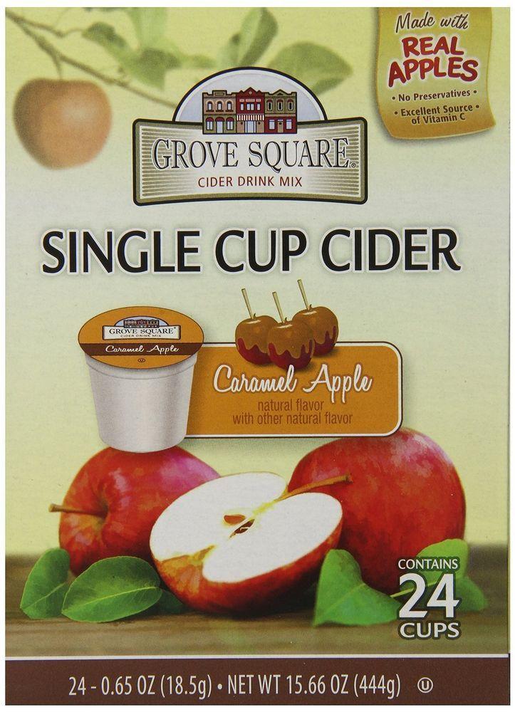 Keurig Caramel Apple Cider Single Serve Caramel apples