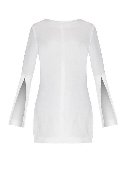 100% Guaranteed Sale Online Ellery Woman Draped Cotton-jersey T-shirt Ivory Size 8 Ellery Free Shipping With Mastercard Footlocker Pictures Online Sale Online Cheap Sale Wide Range Of QJU8lZ4BA
