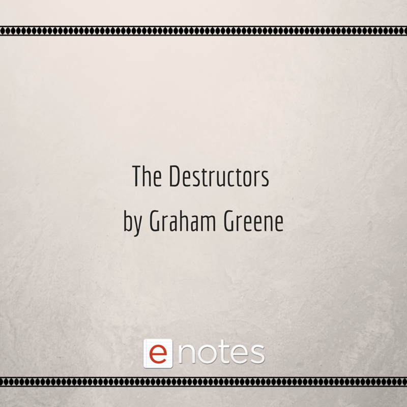 Essay On Good Friend The Destructors By Graham Greene Study Guide Chapter Summaries Book  Synopsis Character Lists Quotes And More Help On Your Homework Exams  And Essays Violence On Television Essay also Feudalism Essay The Destructors By Graham Greene Study Guide Chapter Summaries  Essay Bullying