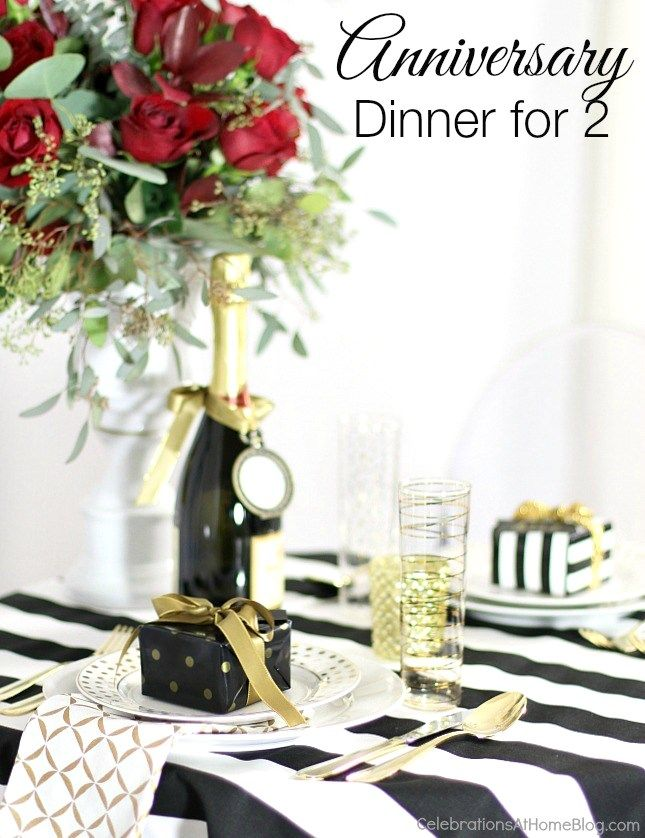 Ideas to Celebrate an Anniversary {or Valentines Day | 15 year ...