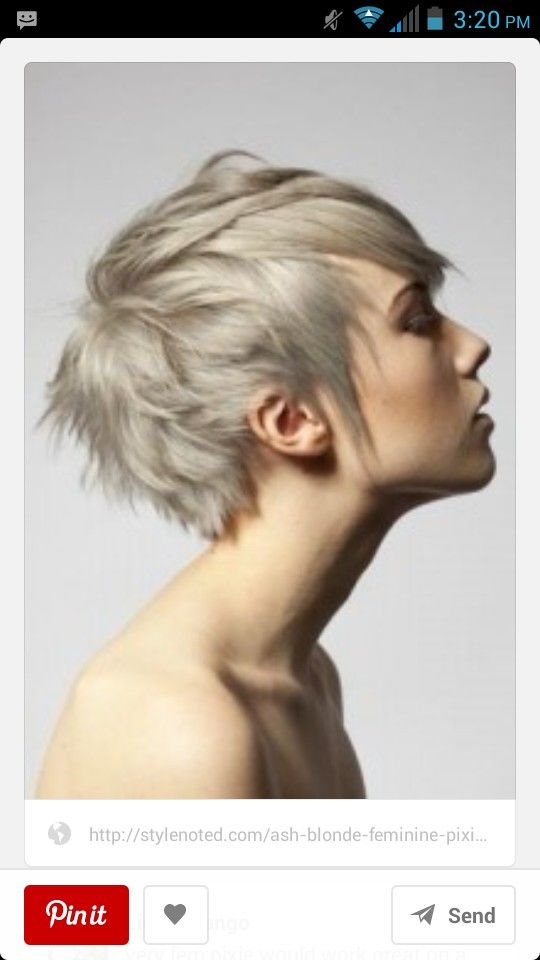I really like this messy pixie cut c: | Hair | Pinterest ...