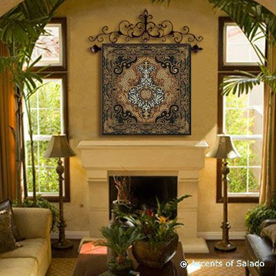 Mediterranean Wall Tapestry Mediterranean Theme Tapestries And