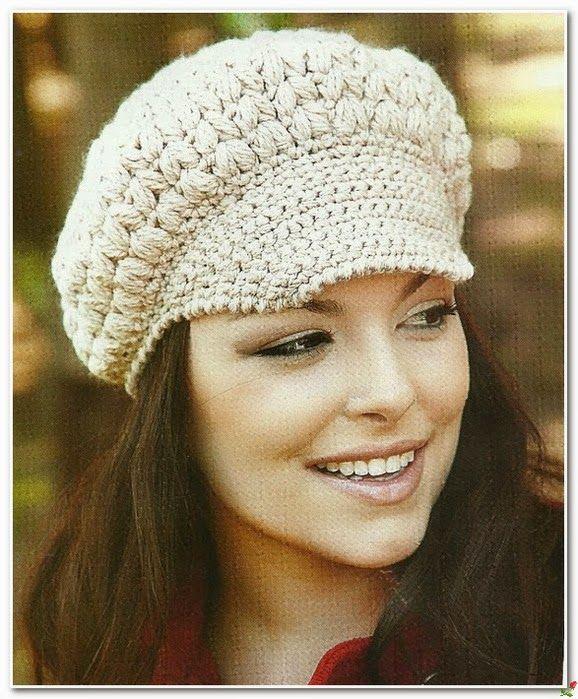 Inspirações de Croche com Any Lucy: Gorro/Boina