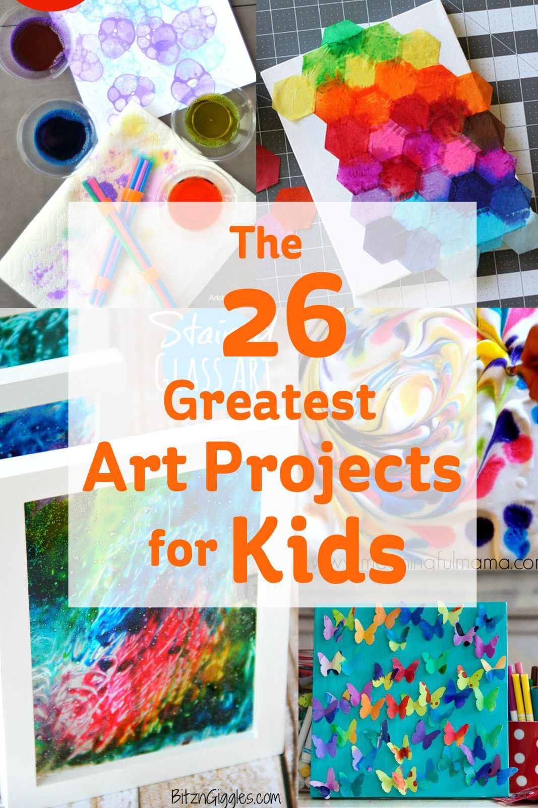 The 26 Greatest Art Projects for Kids Projects for kids