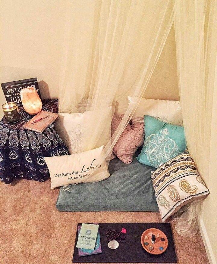 Image result for meditation corner in bedroom